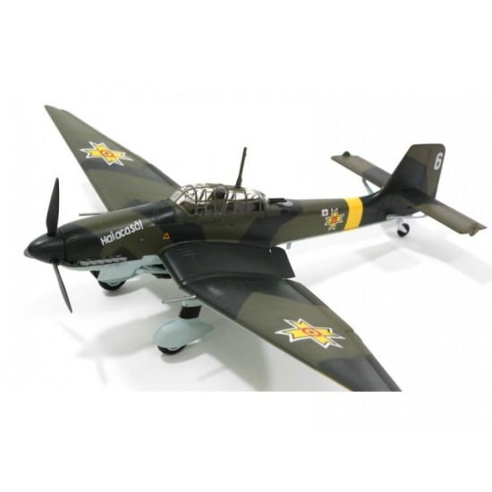 Macheta Ju87D-3 Fortele Aeriene Romane 1:72