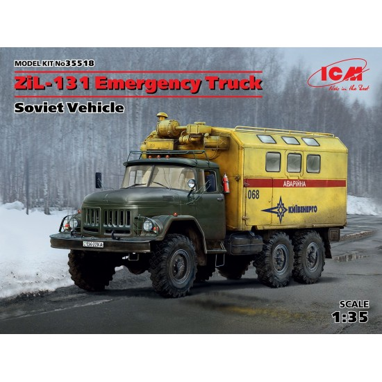 Camion ZIL 131, scara 1:35