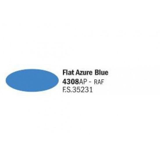 Vopsea acrilica albastru azur 20ml.