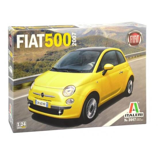 Fiat 500 la scara 1:24