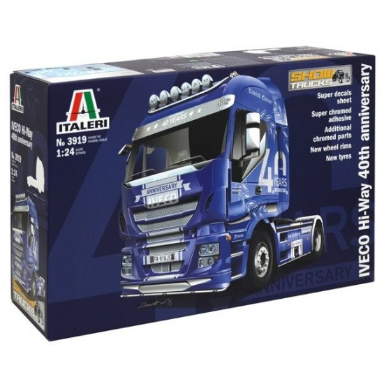 Camion scara 1:24 IVECO HI-WAY 40th ANNIVERS. Show Truck