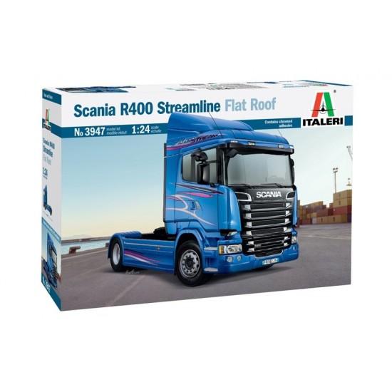 Camion scara 1:24 Scania R400 STREAMLINE (Flat Roof)