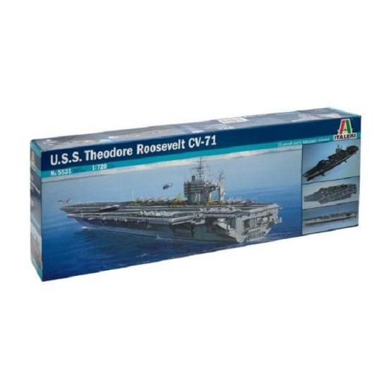 Portavionul U.S.S. TH. ROOSEVELT scara1:720