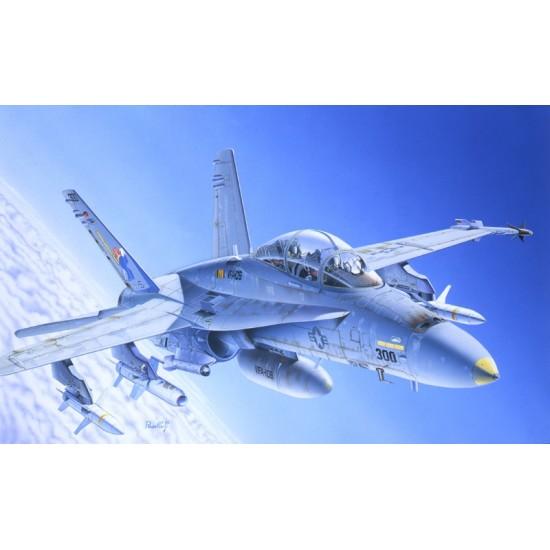 Avion F/A-18 C/D WILD WEASEL, scara 1:72