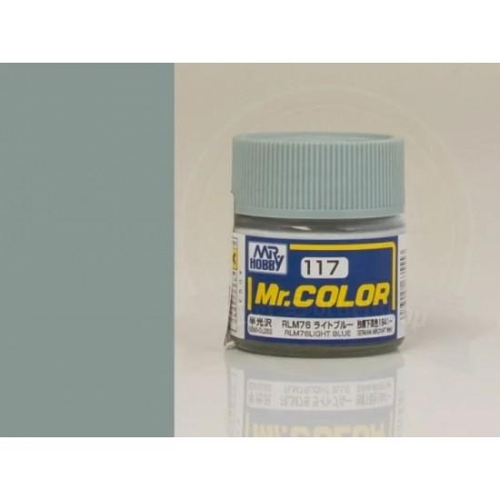 Vopsea Mr. Color albastru deschis, 10 ml