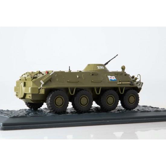 Macheta transportor blindat BTR-60PB scara 1:43