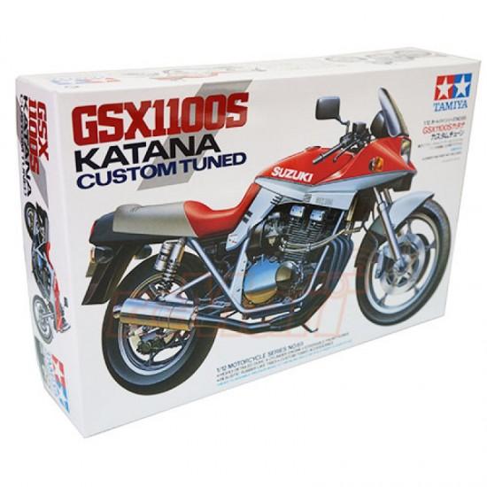 Motocicleta 1:12 Suzuki GSX1100S Katana 'Custom Tuned'
