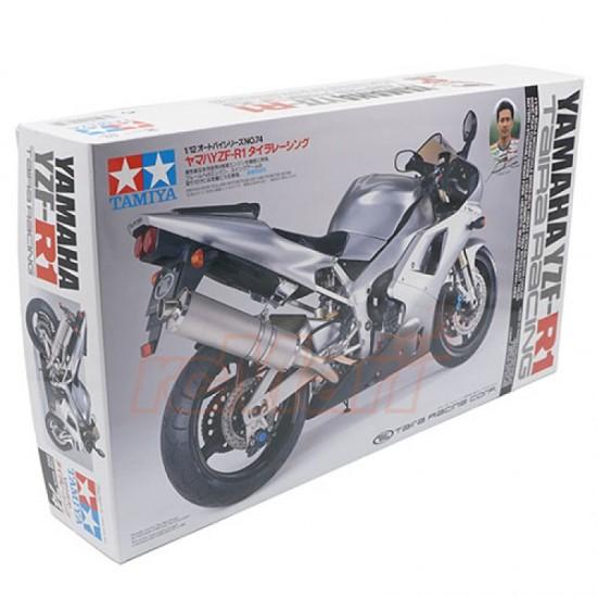 Motocicleta 1:12 Yamaha YZF-R1 Taira Racing