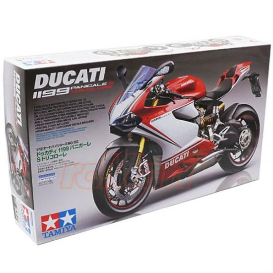 Motocicleta 1:12 Ducati 1199 Panigale S - Tricolore
