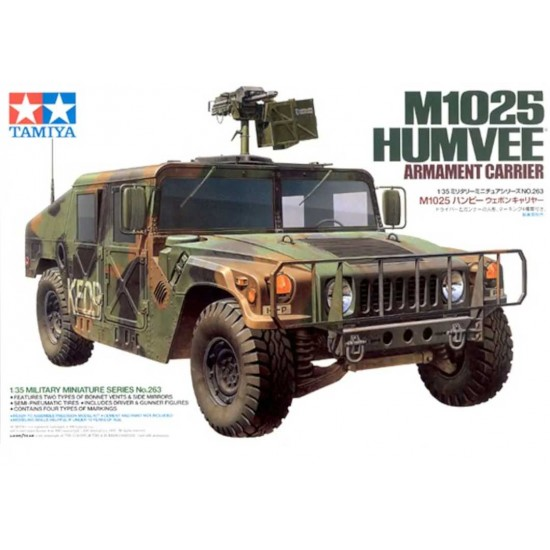 Humvee M1025  Armament Carrier la scara 1:35