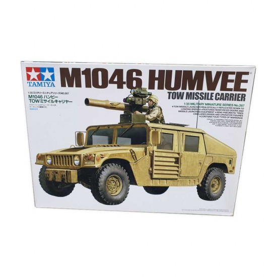 Humvee M1046 - TOW Missile Carrier la scara 1:35