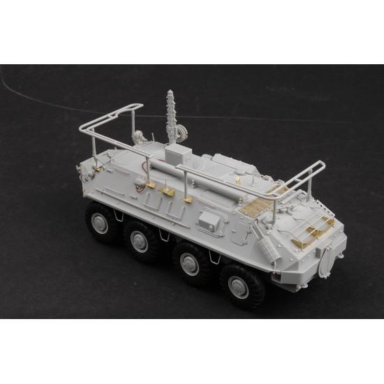 Transportor blindat rusesc BTR-60P BTR-60PU, scara 1:35