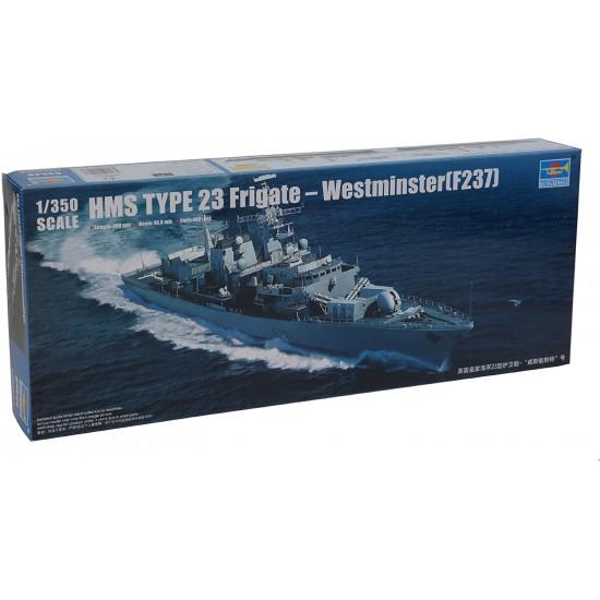 Fregata HMS TYPE 23 Westminster(F237), 1:350