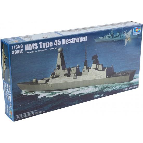 Distrugatorul HMS Type 45, 1:350