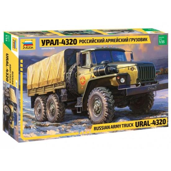 Camion Ural 4320, scara 1:35