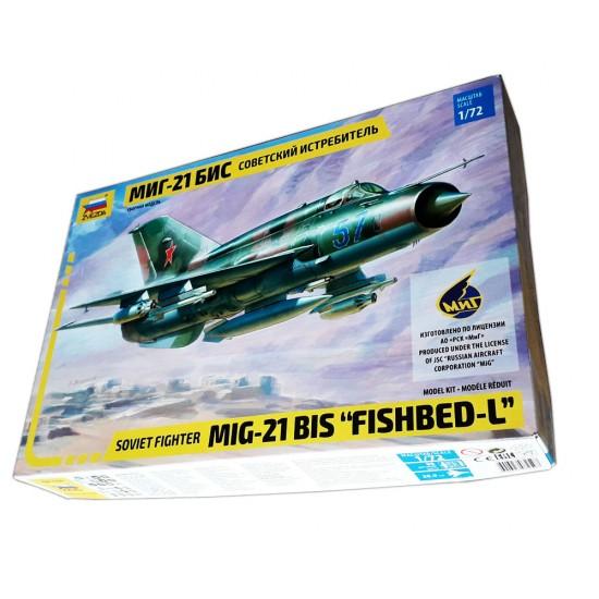 MiG-21bis Soviet Fighter, scara 1:72