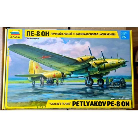 """Avion militar PE-8 ON """"Avionul lui Stalin"""", scara 1:72"""