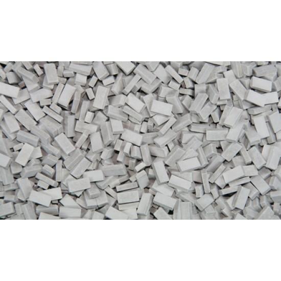 Caramizi ceramice (tip RF) Juweela gri inchis scara 1:72