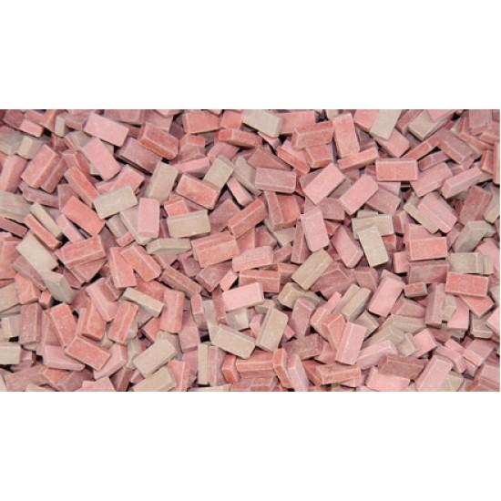 Caramizi ceramice (tip RF) Juweela mix rosu