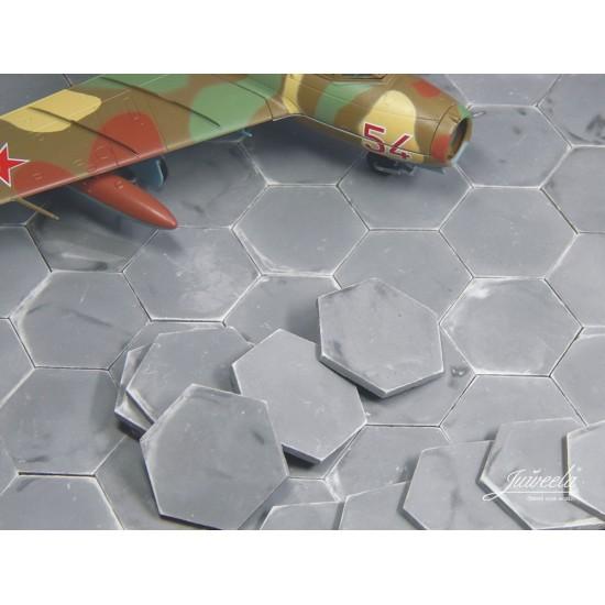 Placi beton hexa pentru aerodrom 1:72