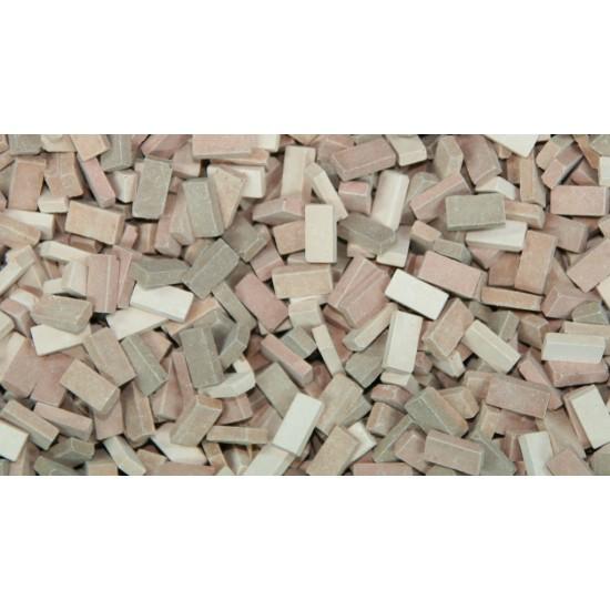 Caramizi ceramice (tip RF) Juweela mix teracota 1:35