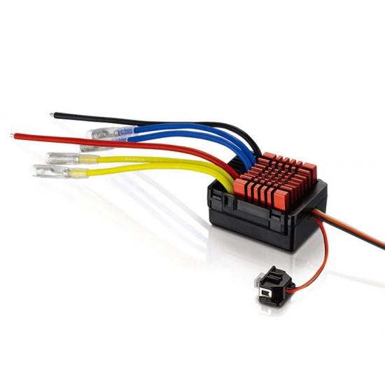 Regulator de turatie waterproof dual QuicRun WP880, 80A, pentru motoare cu perii