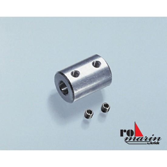 Cuplaj rigid 3.17 la 4 mm pentru navomodele