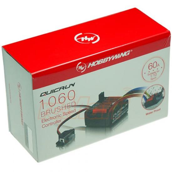 Regulator de turatie waterproof QuicRun WP1060, 60 A pentru motor cu perii