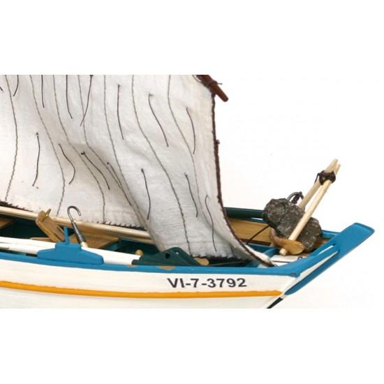 Kit de construit navomodel Gamela Carmina