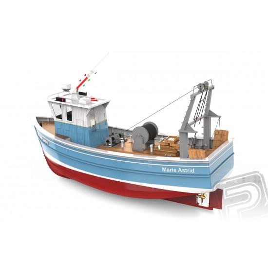 Nava de pescuit Marie Astrid 1:50