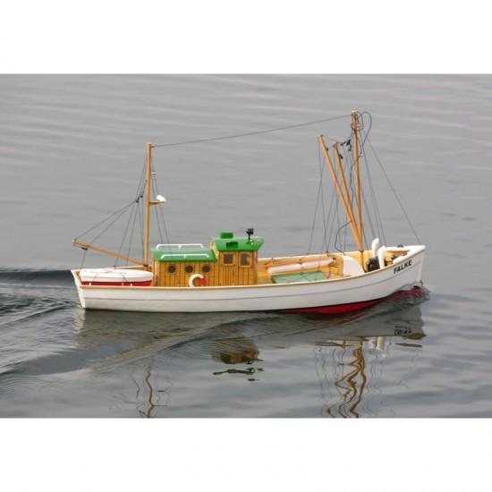 Nava de pescuit Falke