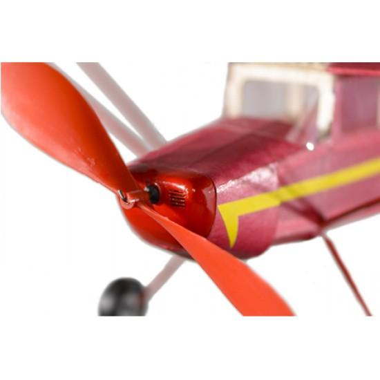 Aeromodel din balsa pentru zbor liber Cessna 140