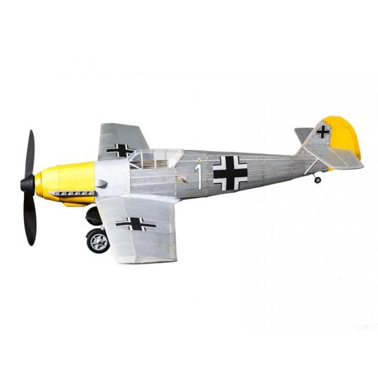 Aeromodel din balsa pentru zbor liber Messerschmitt BF-109