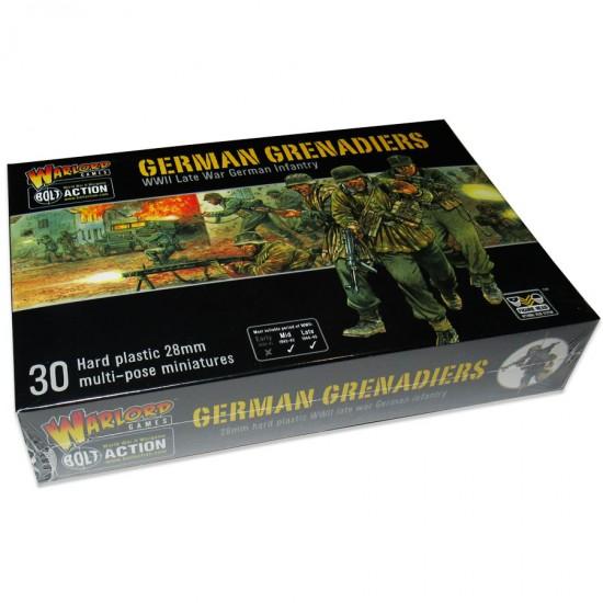 Figurine 28mm, Set de grenadieri germani