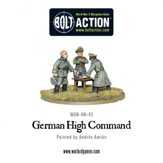 figurine 28mm comandanti germani