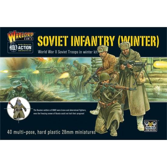 Set de infanteristi sovietici echipati de iarna
