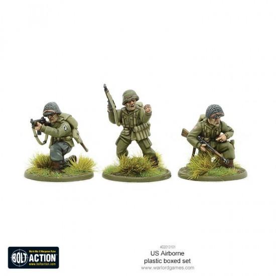 Figurine 28mm, Set de parașutiști americani