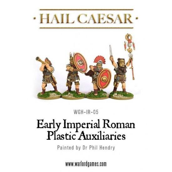 Figurine 28mm, set auxiliari romani