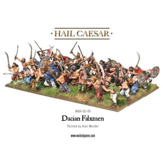 Figurine 28mm, Set luptători daci cu falx