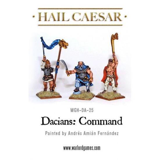 Figurine 28mm Grup de comandă dacic