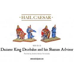 Regele Decebal si consilierul sau