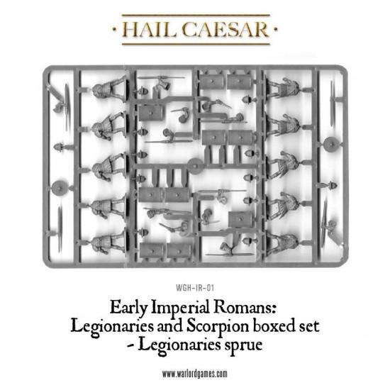 Figurine 28mm, Set legionari romani și catapulta scorpion