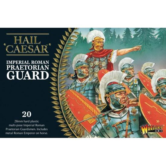 Set soldați din Garda Pretoriană și Împăratul Marcus Aurelius