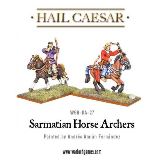 figurine 28mm cavalerie sarmată cu arcuri